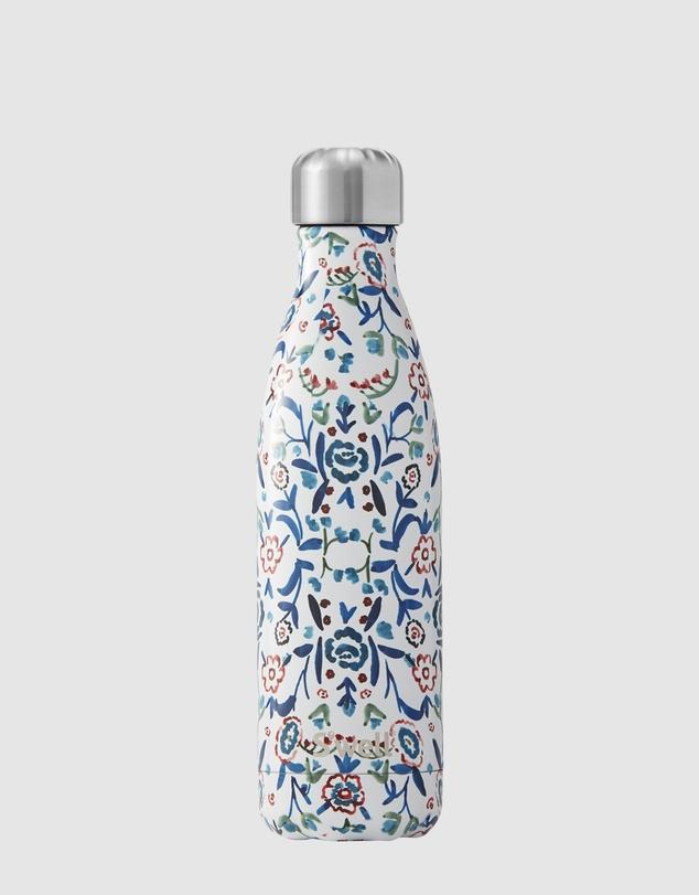 Men Insulated Bottle Flora Collection 500ml Blue Cornflower
