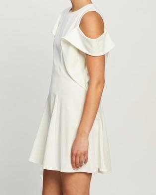 Moss??e Charlotte Off Shoulder Dress - Dresses (White)