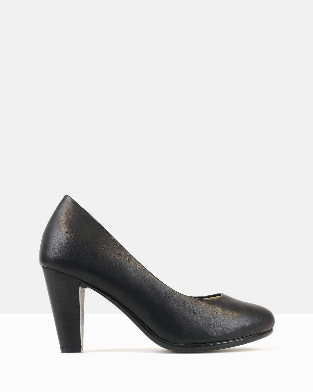 Betts Hawk Heeled Pumps All Pumps Black Hawk Heeled Pumps