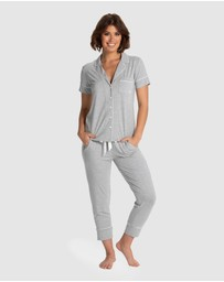 Deshabille Sleepwear  - Manor Cropped PJ Set