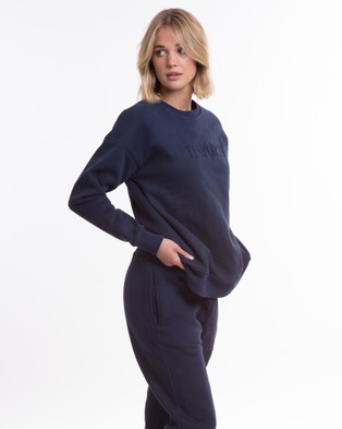 TJ SWIM The Dylan Sweater - Jumpers (Navy)