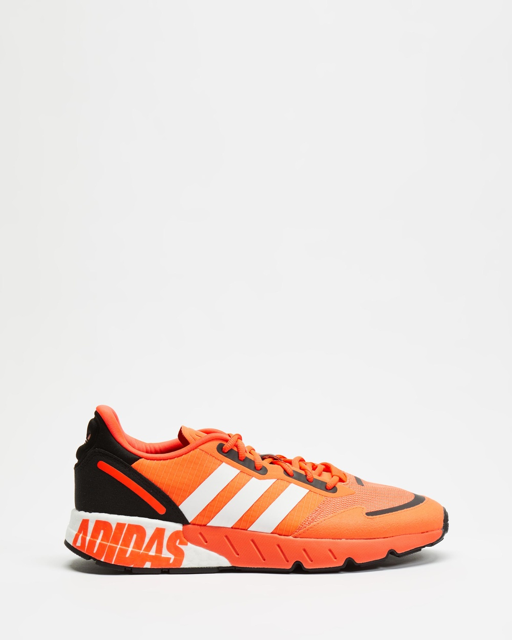 adidas Originals ZX 1K Boost Sneakers Men's Lifestyle Solar Red, White & Core Black