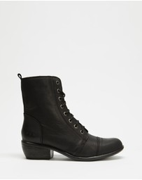 ROC Boots Australia - Territory Leather Ankle Boots