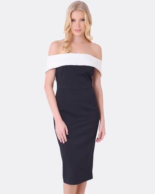 Forcast – Gigi Off Shoulder Dress Black