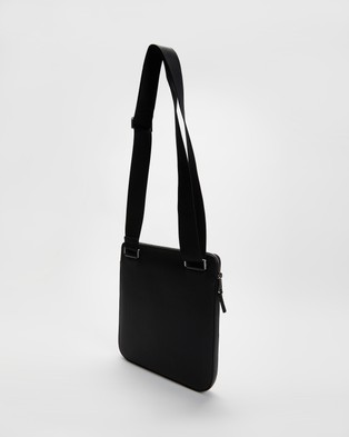 Lacoste Chantaco Flat Crossover Bag - Bags (Black)
