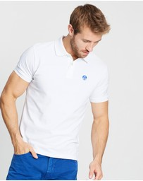 North Sails - Short Sleeve Polo With Logo