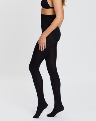 The Legwear Company 2 Pack 120 Denier Support Tights - Full Length (Black)
