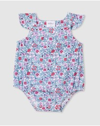 Milky - ICONIC EXCLUSIVE - Antique Floral Playsuit - Babies