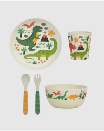 Petit Collage - Eco-Friendly Bamboo Dinnerware Set