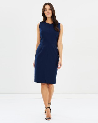 Farage – Evie Dress Blue