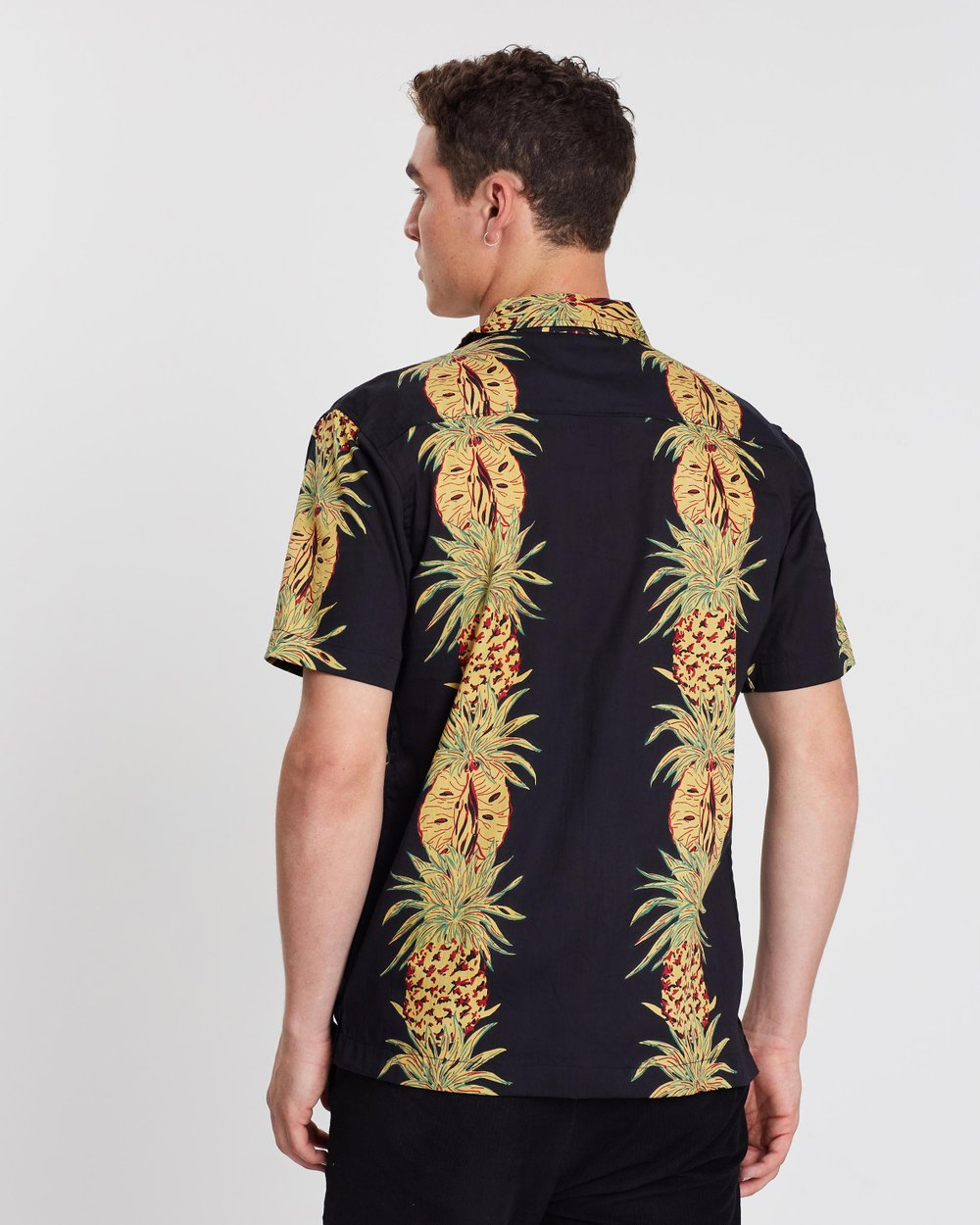 Pineapple Printed Shirt By Bellfield Online The Iconic Australia
