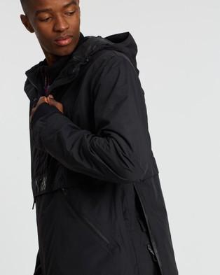 Yuki Threads Staten Anorak - Coats & Jackets (Black)