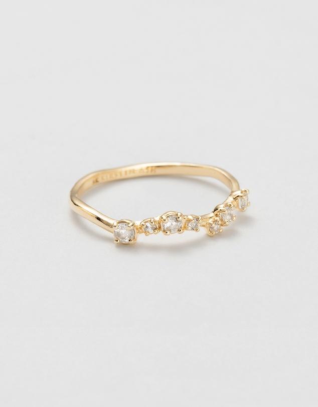Women Shimmer Topaz Ring