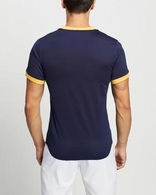 ASICS Match GPX Tee - Short Sleeve T-Shirts (Peacoat)