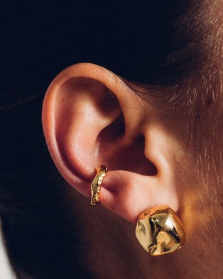Released From Love Classic Ear Cuff 002 - Jewellery (Gold Vermeil)