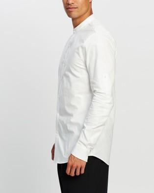 Justin Cassin Graham Shirt - Casual shirts (White)