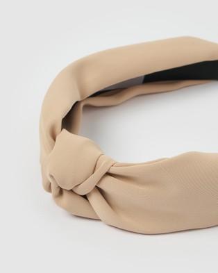 Izoa Dakota Headband - Hair Accessories (Nude)