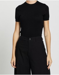 Forcast - Catherine Short Sleeve Knit
