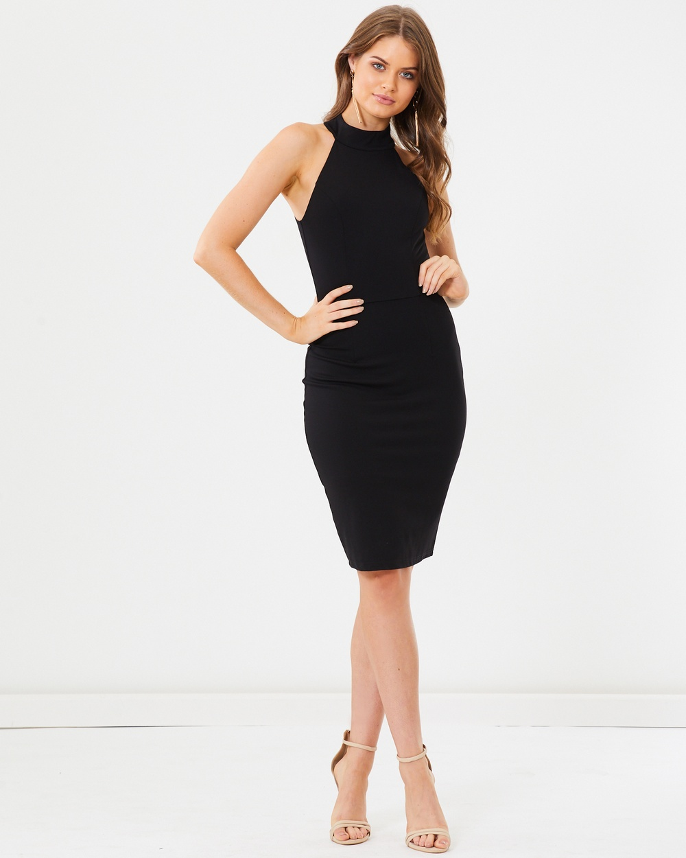 Tussah Rosana Bodycon Dress Bodycon Dresses Black Rosana Bodycon Dress