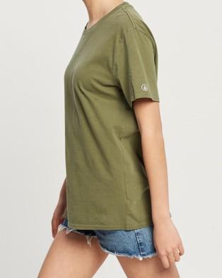 Volcom Pigment Wash Tee - T-Shirts & Singlets (Green)