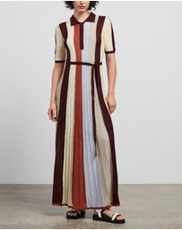 Lee Mathews - Tencel Rib Maxi Dress