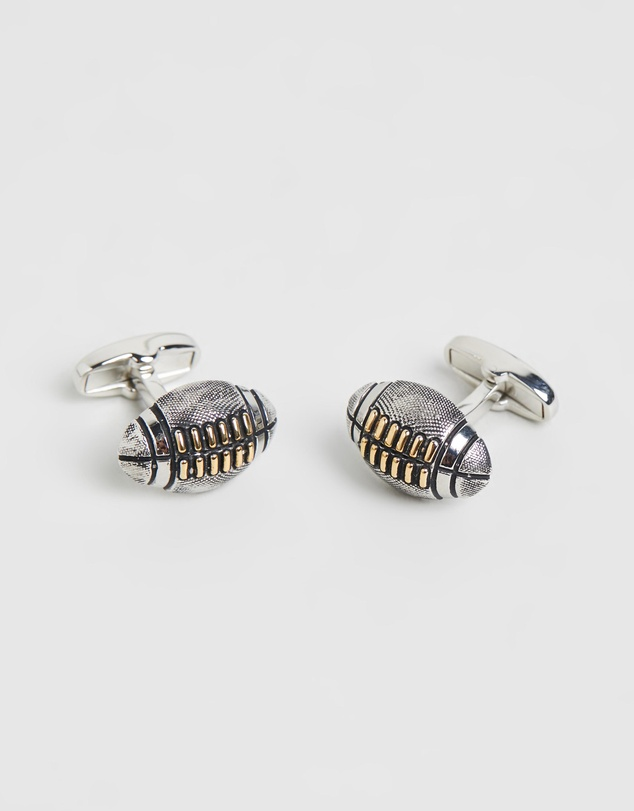 Paul Smith - Rugby Ball Cufflinks