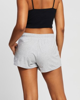 All About Eve The One Jersey Shorts - Shorts (GREY MARLE)