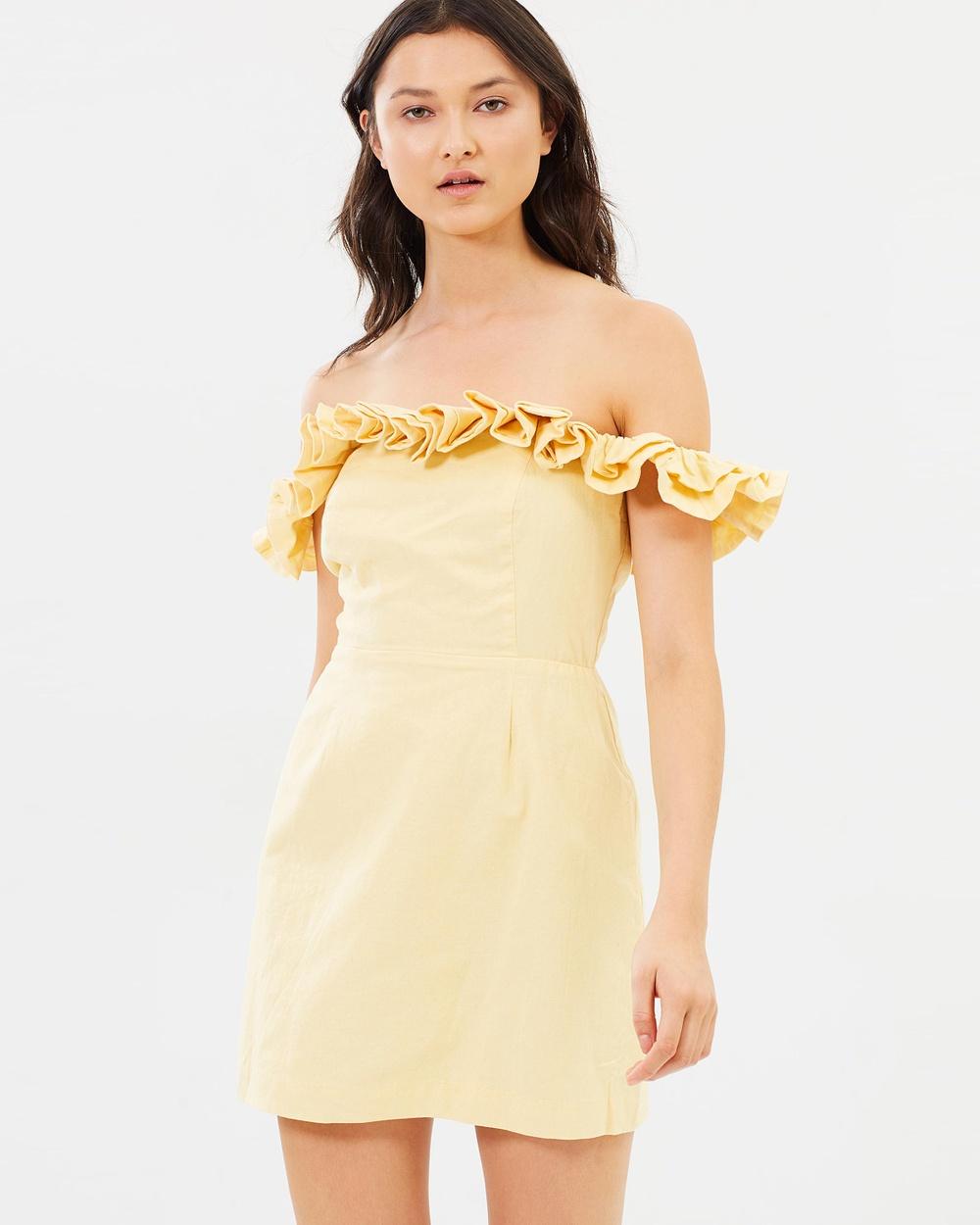 Lulu & Rose Inez Off Shoulder Dress Dresses Sunray Inez Off-Shoulder Dress