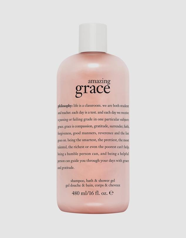 Life Amazing Grace Shampoo, Bath and Shower Gel 480mL