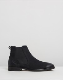 Double Oak Mills - Boardman Leather Chelsea Boots