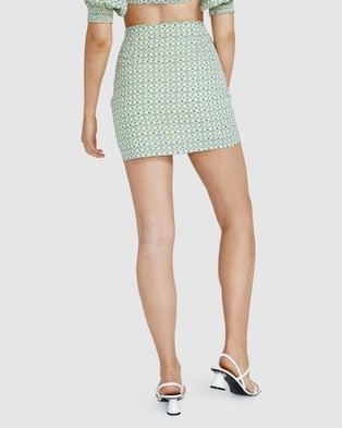Dont Ask Amanda Sally Scruched Skirt - Skirts (ASSORTED)