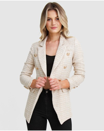 Belle & Bloom - Princess Polly Tweed Blazer