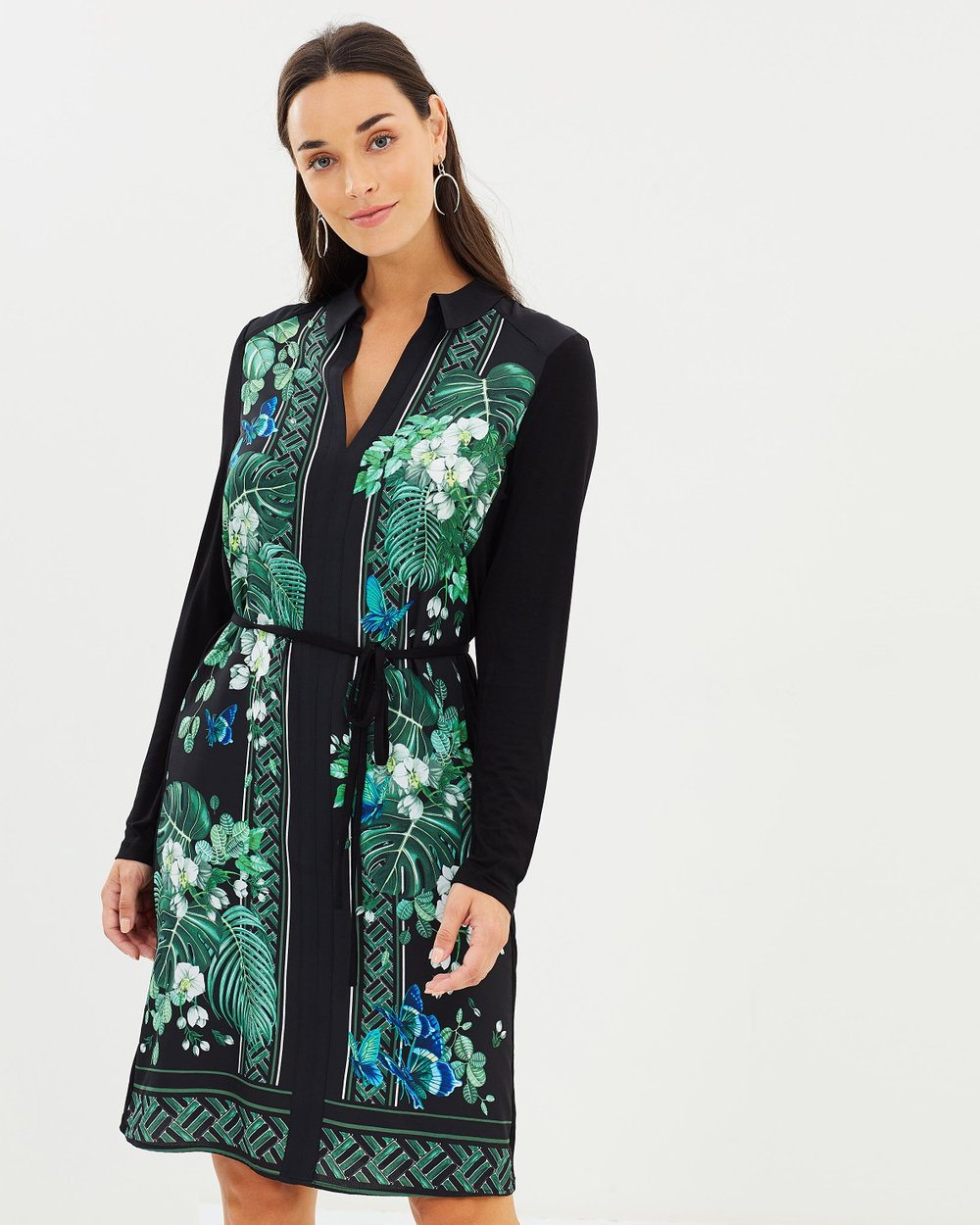 Greenhouse Shirt Dress by Oasis Online  7ab4bc5921