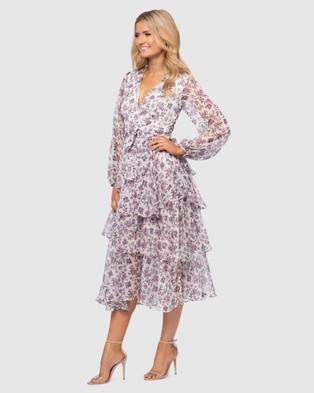 Pilgrim Miley Dress - Printed Dresses (White)