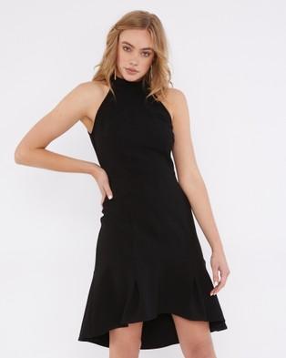 Tussah – Lincoln Ruffle Dress – Bridesmaid Dresses (Black)