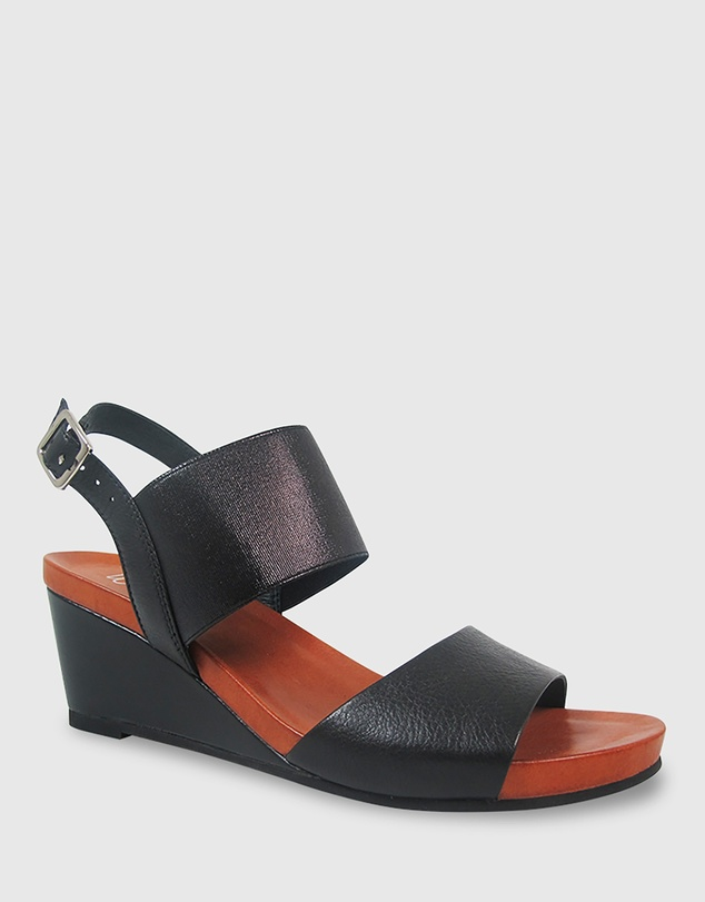 Wittner - Marion Open Toe Wedge Sandals