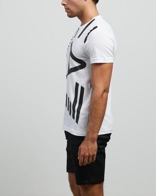 Emporio Armani EA7 - Large Logo T Shirt T-Shirts & Singlets (White) T-Shirt