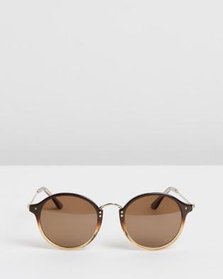 RIXX Eyewear Orbit - Sunglasses (Caramel Polarised)