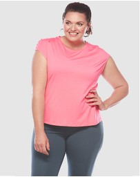 Curvy Chic Sports - Butterfly Tank Top