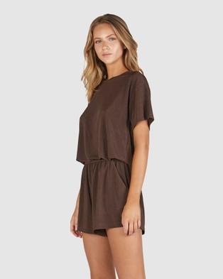 Chosen By Tuchuzy - Jac T Shirt T-Shirts & Singlets (Brown) T-Shirt