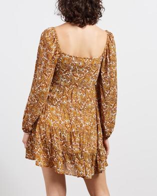 Faithfull The Brand Indira Mini Dress - Printed Dresses (La Medina Paisley Print)