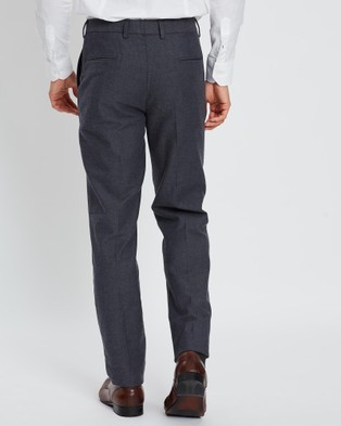 3 Wise Men Bruzer Trousers - Pants (Charcoal)