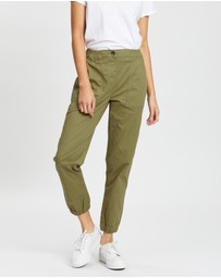 Cotton On - Mid-Rise Cuffed Chinos