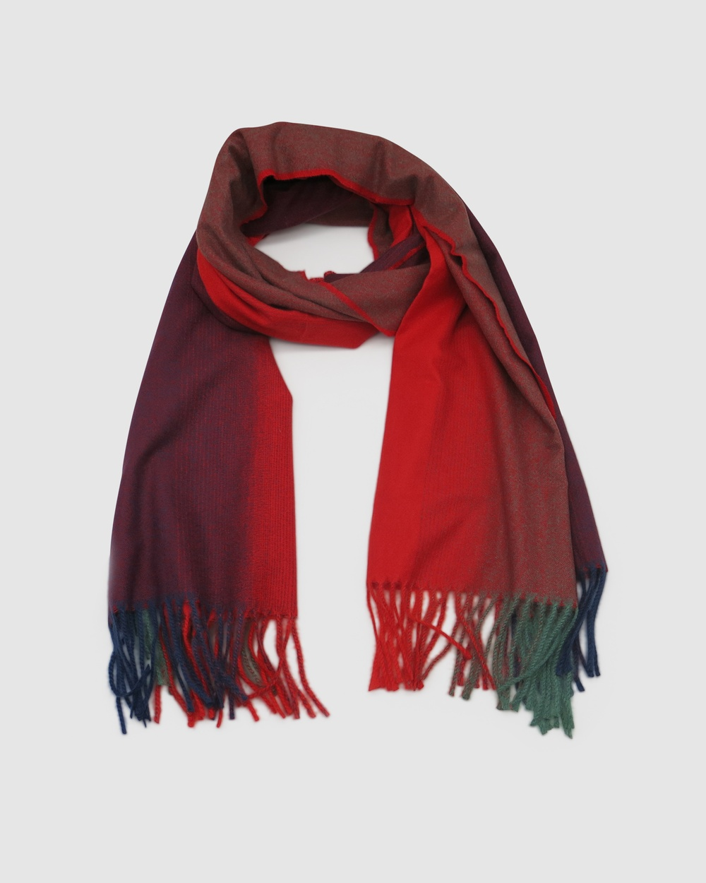 Morgan & Taylor Ruby Scarf Scarves Gloves Red