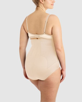 Miraclesuit Shapewear Adjust Fit Hi Waist Brief PLUS - Lingerie (Nude)