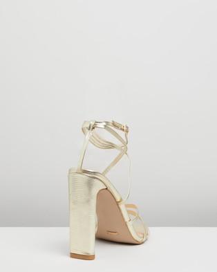 Billini Demi - Heels (Gold Scale)