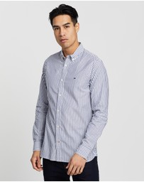 Tommy Hilfiger - Slim Natural Soft Stripe Shirt