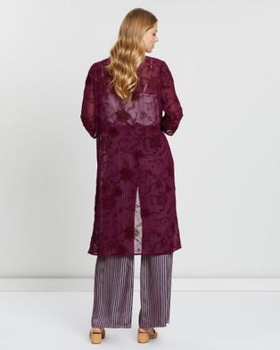 KAJA Clothing Isadora Jacket - Coats & Jackets (Red Purple)