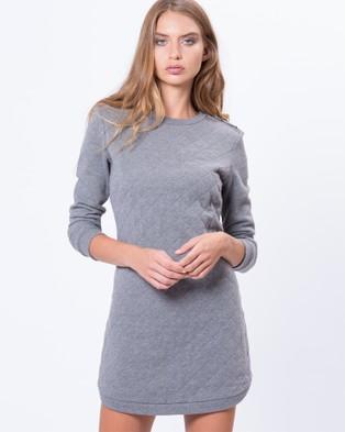 Grace on Mercer – Houston Dress – Dresses (Grey)
