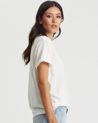 Savel Savel Logo Tee - T-Shirts & Singlets (White & Black Logo)